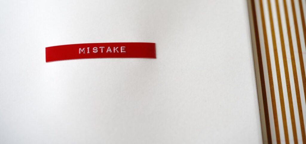 Freelance Writer Mistakes Header Image