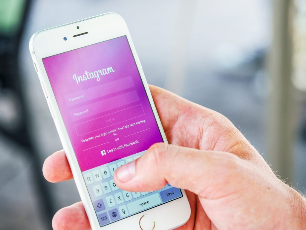 Posting on Instagram can help you promote yourself