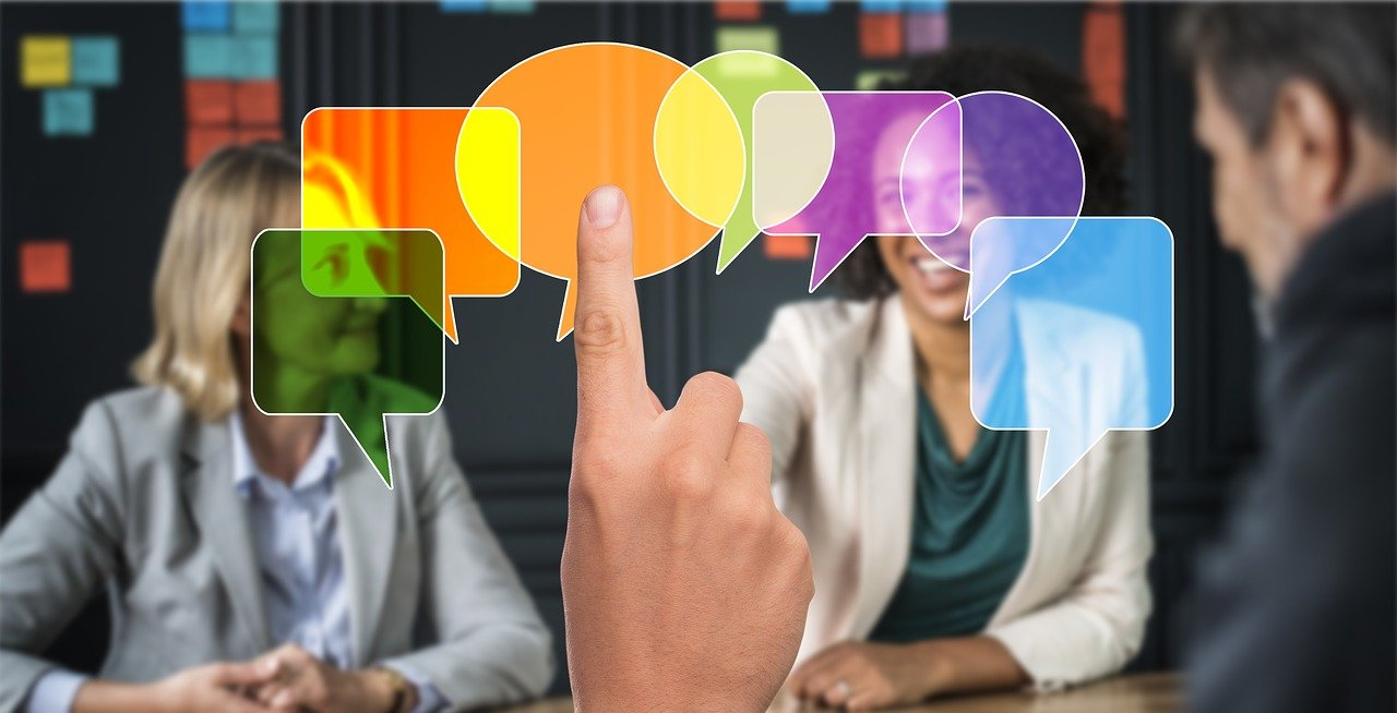 A set of speech bubbles indicating how you get more likes, shares, comments, and feedback if you post regularly